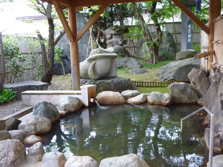 マツキドライビングスクール長井校温泉に入れる教習所特集用写真