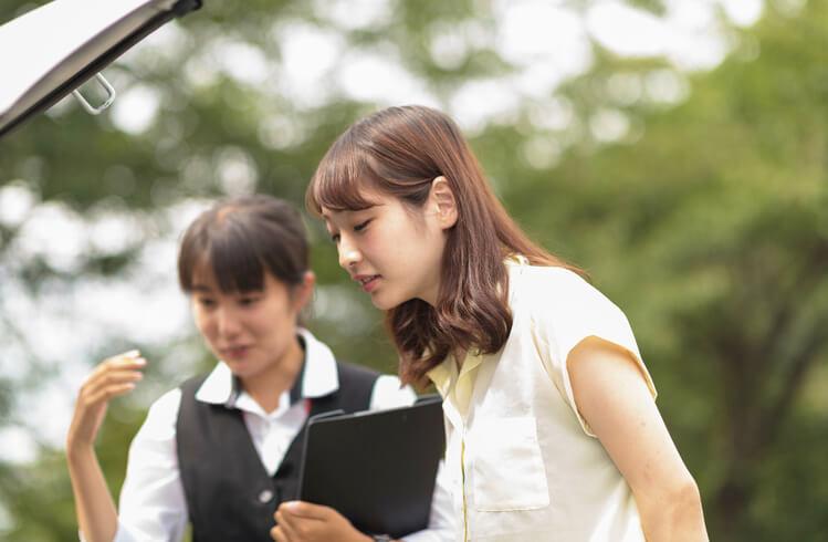 マツキドライビングスクール福島飯坂校の教習の様子