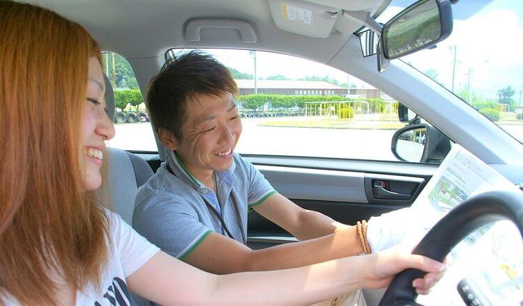 飯田自動車学校の教習の様子