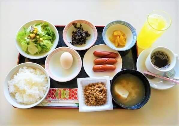 高知家・高知県自動車学校の食事例