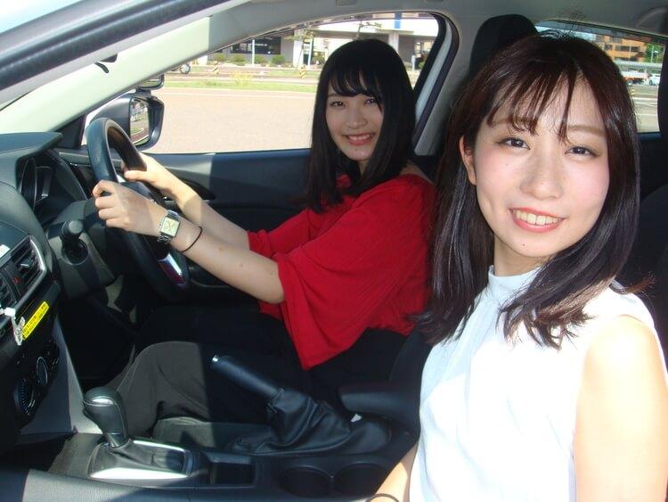 新潟中央自動車学校の教習の様子