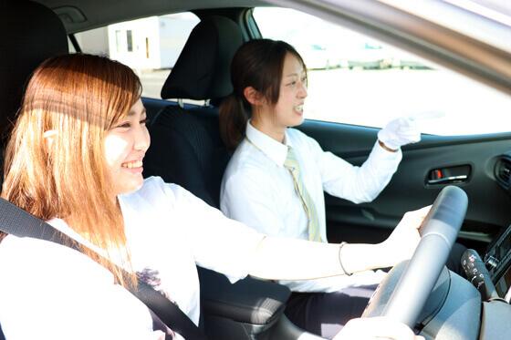 東名自動車学校女性にオススメの教習所特集用写真