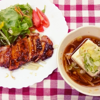 田村自動車学校の食事